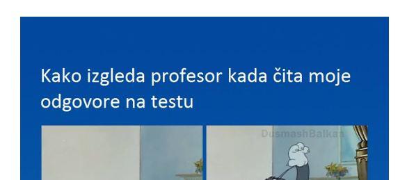 Kako izgleda profesor kada čita… – BezBrige